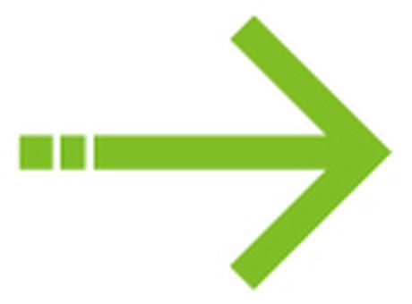 单线箭头_绿色