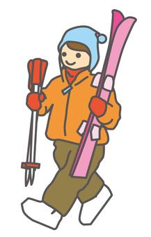 Ski girls