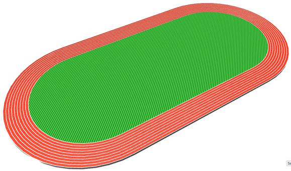 Land track