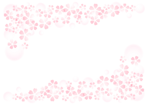 Soft image cherry background