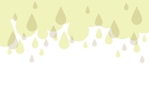 Rain grain frame (green)