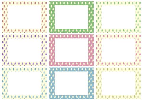 Coniferous frame