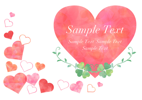 Heart _ Pastel background