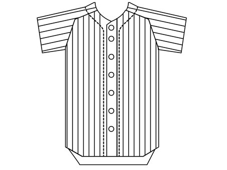 Baseball uniform jersey 4