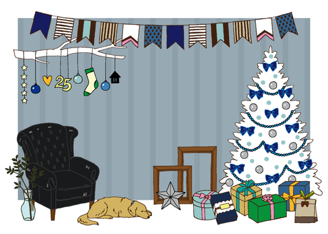 Christmas frame <chic>