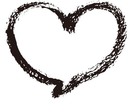 Bukkakushi (Heart · ink)