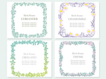 Herb frame 4 types 3