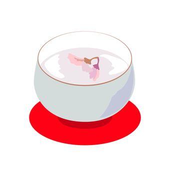 桜湯 벚꽃 차