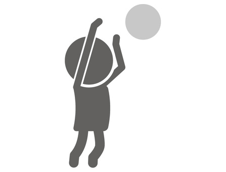 Stickman pictogram ___ shoot