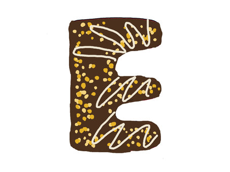 Chocolate character E