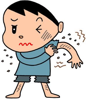 Dyspnea / dermatitis