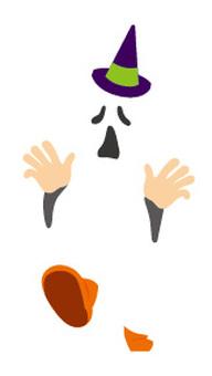 Pumpkins, ghosts