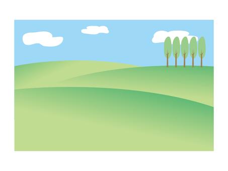 Landscape · Plateau a