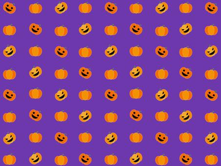 Pumpkin wallpaper (purple)