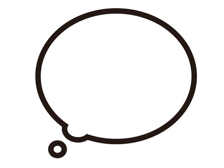 Speech bubble (thinking)