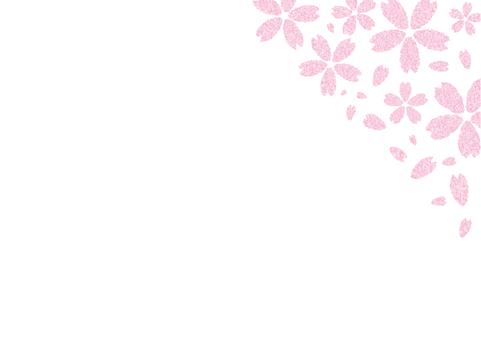 벚꽃 프레임 (오른쪽)