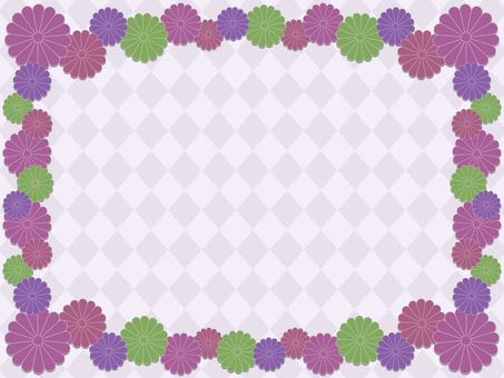 菊花花背景2