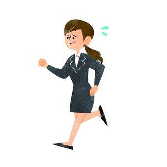 Running student 1