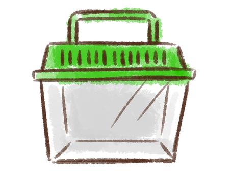 Crayon series [worm basket]