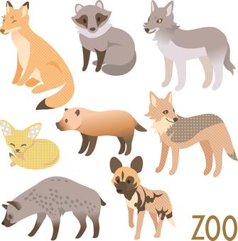 Animal Set Meat Canidae Hyena Department