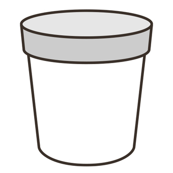 Cup with lid _ E