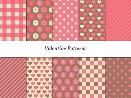 バレンタインパターン