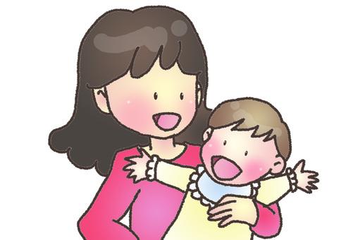 寶貝和媽媽