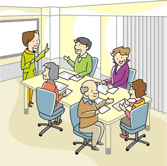 Culture classroom scene-02