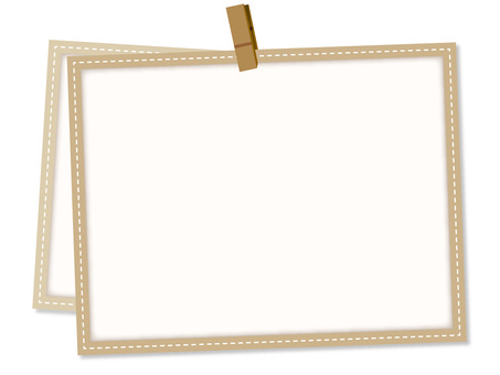 5622. Frame, clip, light brown
