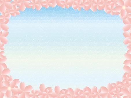 Sky and cherry