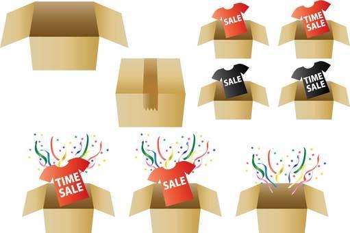 Cardboard material set