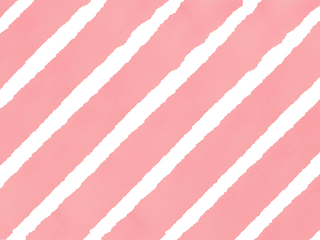 Watercolor thick striped pink