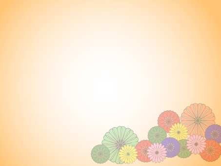 Japanese pattern flowers 5