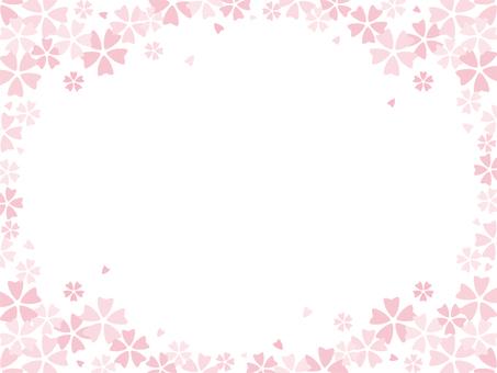 벚꽃 프레임 -01