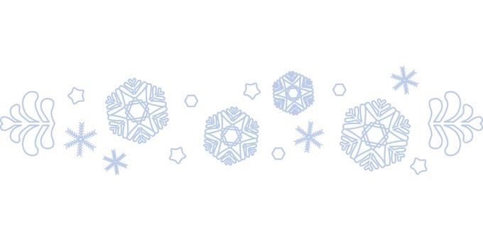 Snow crystal line 2