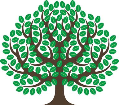 シンボリックな樹木