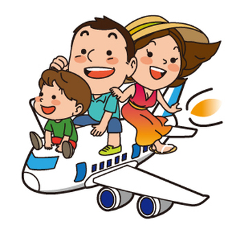 Family and airplane 03
