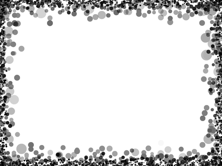 Dot 4 (monochrome frame)
