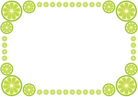 Frame - Citrus - lime