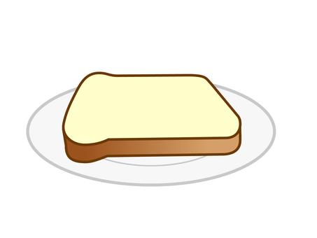 식빵 한 장
