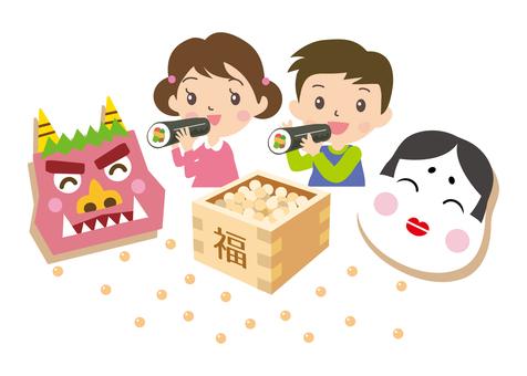 Setsubun和兒童
