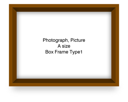 Box frame lateral brown Type 1