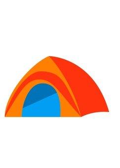 Tent (Orange)