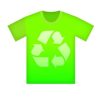 Recycle mark T-shirt