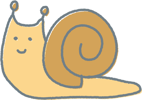 【Rainy season】 snail