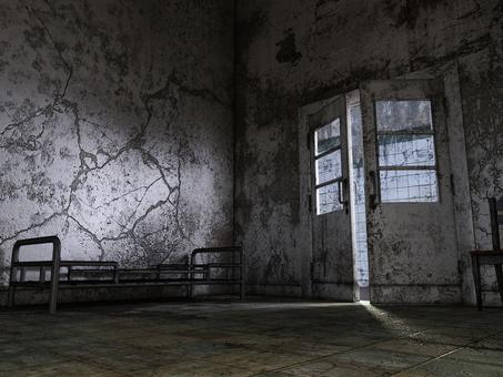 朽ちた病室