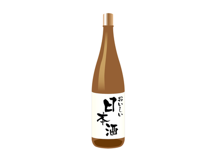 Japanese wine (one liter bottle)