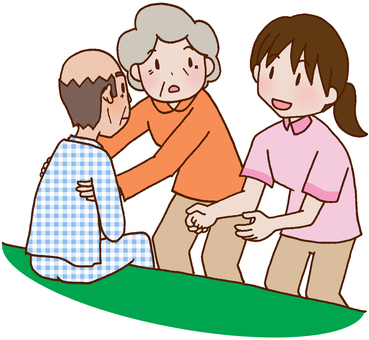 【Nursing care】 Transfer assistance guidance / Family guidance