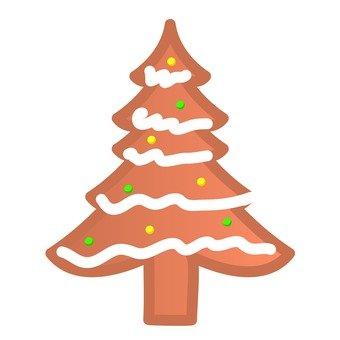 Xmas-tree cookie
