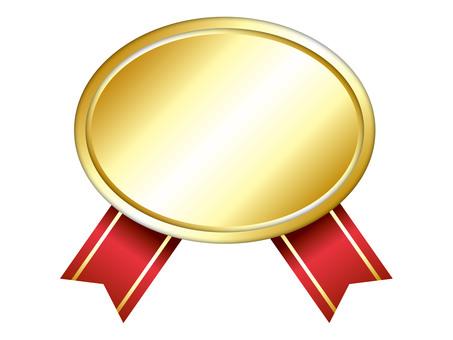 Gold medal frame